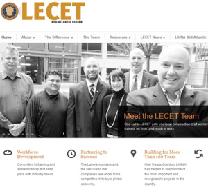 Mid-Atlantic Laborers-Employers Cooperation and Education Trust Launches New Website & Social Media