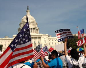 Massive Crowd Rallies at Capitol for Urgent Action on Immigration Reform