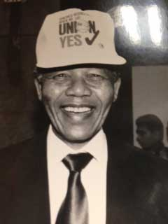 Solidarity Center Report: Labor Mourns Nelson Mandela