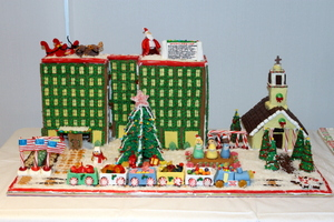 AFL-CIO Gingerbread Competition Raises Over $800 for Laid-Off Workers