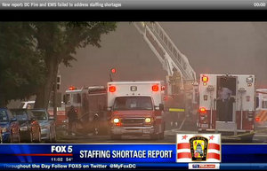 IG Confirms Critical Staffing Shortages at DC Fire Dept