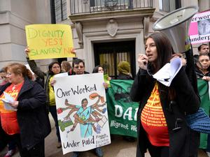 Vigil Today to Protest Mistreatment of Indian Domestic Workers