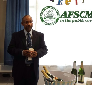 Labor On The Move: AFSCME 3976's Larry Mcclain-El Retires