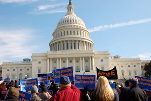 Federal Workers Demand
