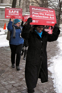DC RNs Call on City Council to End Delay on Patient Protection Act