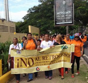 Solidarity Center Report: Workers in Dominican Republic, Peru Stand for Their Rights