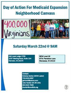 NoVA Labor Activists to Hit Streets Saturday