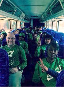 AFSCME Members Bus to DC