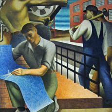 DC LaborFest Today: Ben Shahn WPA Murals