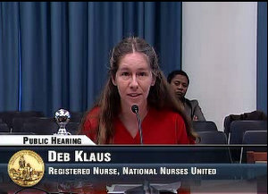 NNU Testifies in Support of Pregnant Workers Fairness Act