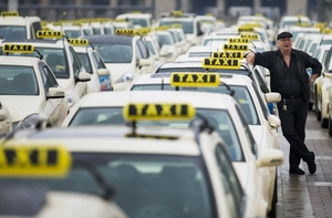 Taxi Drivers Face Uber Trouble