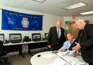 Gov. O'Malley Tours New IUOE 99 Training Facility