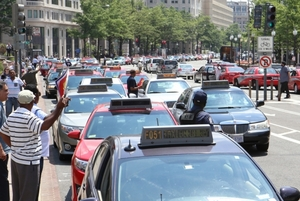 DC Taxi Drivers Demand End To Illegal Ride Services: