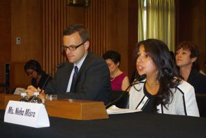 Solidarity Center Report: Taking Human Trafficking Issues to Capitol Hill